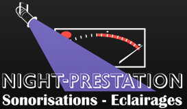 Logo Night-Prestation